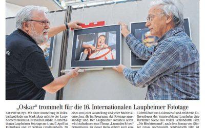 Ausstellung bei der Volksbank in Laupheim